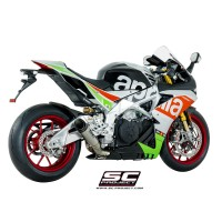 APRILIA RSV4 RF / RR '17 S1 LOW POSİTİON TITANYUM RACING SLIP ON