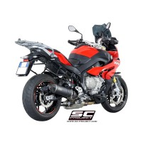 BMW S 1000 XR LOW POSITION HOMOLOGATED OVAL SLIP ON