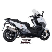 BMW C 650 SPORT OVAL SLIP ON