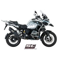 BMW R 1200 GS 17' ADVENTURE MAT SİYAH HOMOLOGATED SLIP ON