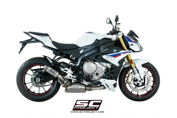 BMW S 1000 R 17' GP70 R SLIP ON WITH FULL TITANIUM SLIP ON