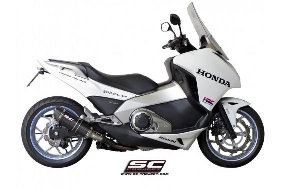 HONDA INTEGRA 700 / 750 OVAL SLIP ON