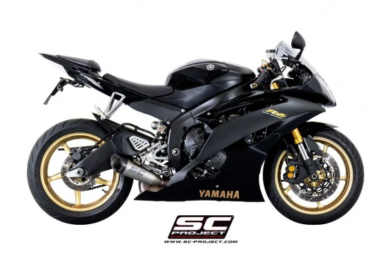 YAMAHA YZF R6 06'-16' S1 RACING SLIP ON