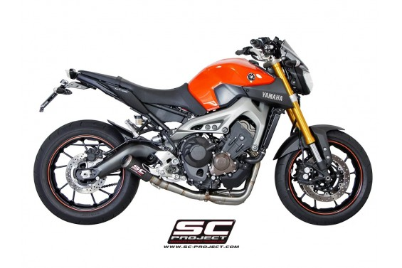 YAMAHA MT 09 14'-16' CRT SILENCER 3>1 FULL SYSTEM