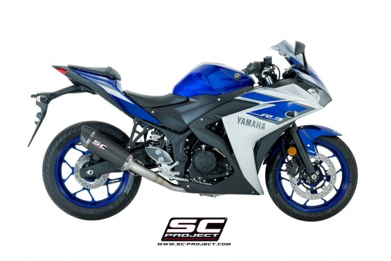 YAMAHA YZF R3 OVAL SILENCER RACING 2>1 FULL SİSTEM
