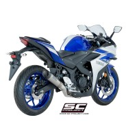 YAMAHA YZF R3 S1 SILENCER RACING 2>1 FULL SİSTEM
