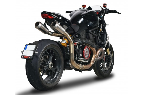 DUCATI MONSTER 1200 16' HIGH MOUNTING SLIP ON SAYILI ÜRETİM !