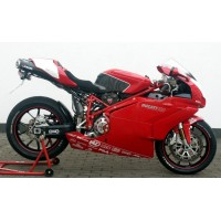 DUCATI 749 / 999 SLIP ON + NUMBERPLATE HOLDER