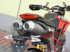 DUCATI HYPERMOTARD 796 09'-12' SLIP ON + Y BORU