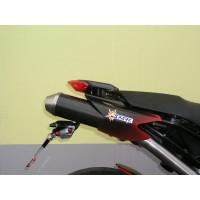 DUCATI HYPERMOTARD 1100 - S - EVO - EVO SP 07'-12' 2 SLIP ON & Y BORU