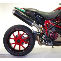 DUCATI HYPERMOTARD 1100 - S - EVO - EVO SP 07'-12' OVAL SLIP ON