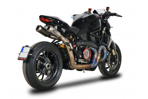 DUCATI MONSTER 1200 16' SBK HIGH VERSION FULL TITANIUM FULL SİSTEM SAYILI ÜRETİM !