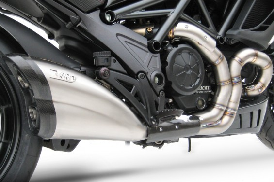 DUCATI DIAVEL 11'-17' 2>1 VERSION HEADERS KIT