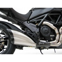 DUCATI DIAVEL 11'-17' TITANIUM VERSION SLIP ON