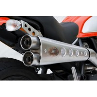 DUCATI SCRAMBLER HIGH MOUNTED SHORT VERSION 2>1 FULL KIT