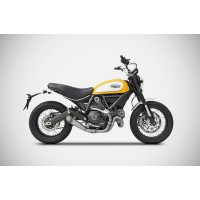 DUCATI SCRAMBLER CONICAL VERSION PASLANMAZ ÇELİK RACING 2>1 FULL KIT