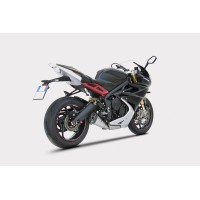 TRIUMPH DAYTONA 13' LOW MOUNTED SHORT VERSİYON SLIP ON