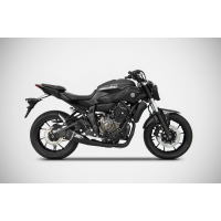 YAMAHA MT 07 SHORT VERSION STEEL 2>1 FULL KIT