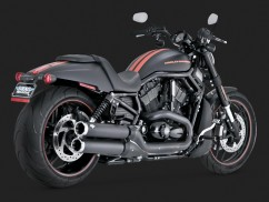 HARLEY DAVİDSON NIGHT ROD WIDOW KONİK SİYAH SLİP-ONS